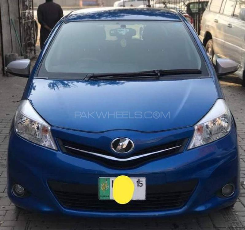 Toyota Vitz Jewela Smart Stop Package 1.0 2012 Image-1