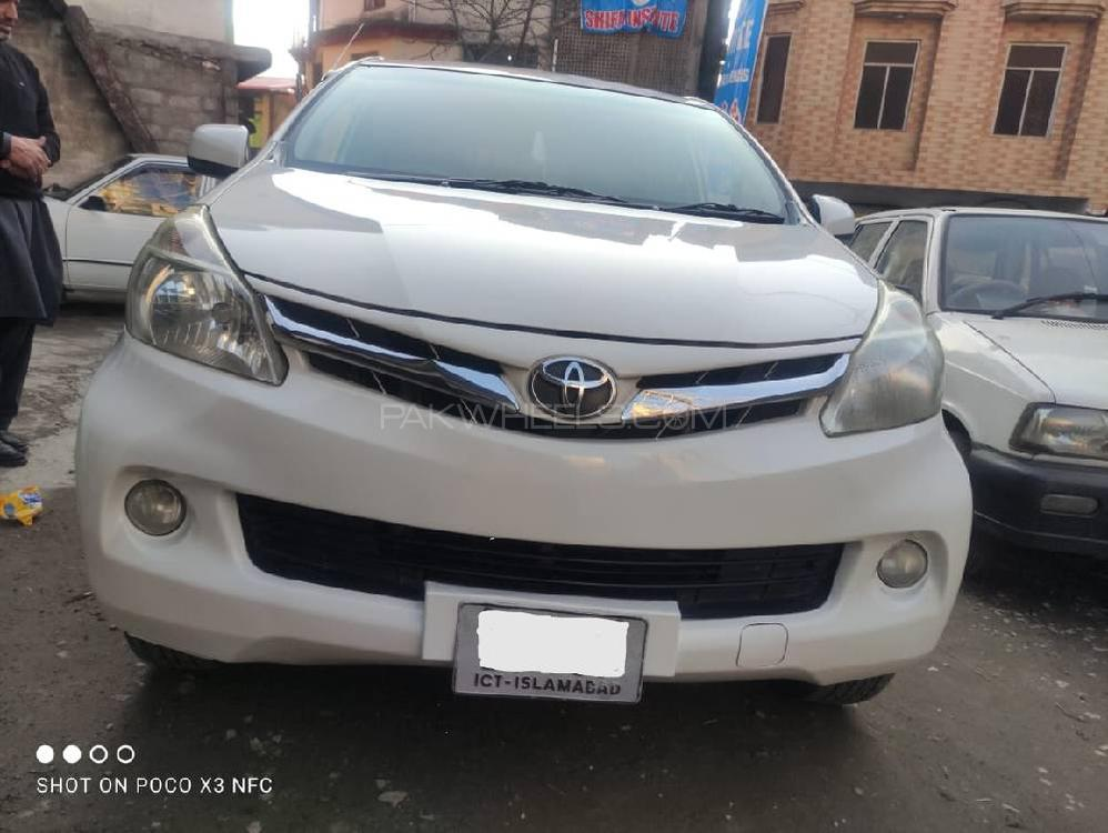 Toyota Avanza Up Spec 1.5 2015 Image-1