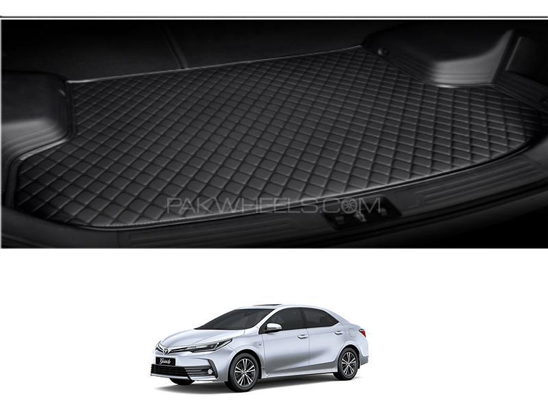 Toyota Corolla 2014-2021 7D Trunk Mat Image-1