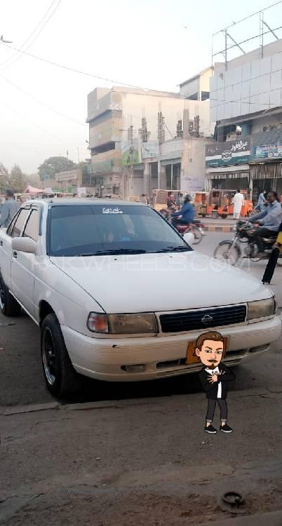 Nissan Sunny EX Saloon 1.6 (CNG) 1993 Image-1