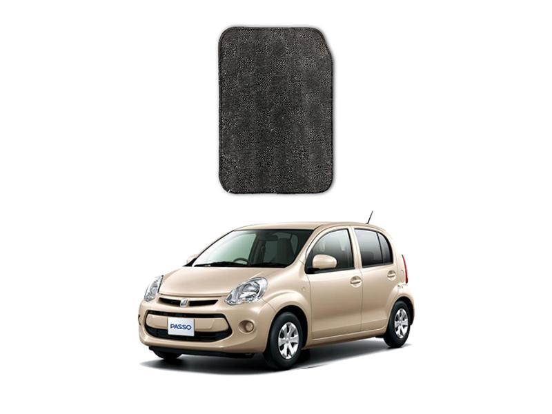 Toyota Passo Marflex Floor Mats Premium Grey in Lahore