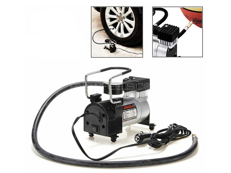Portable 12v Dc Emergency Tire Inflator Air Compressor  in Lahore