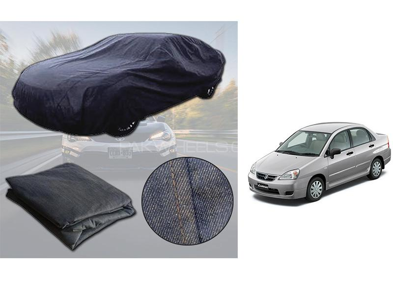 Suzuki Liana 2006-2014 Denim Double Stitched Top Cover  in Karachi