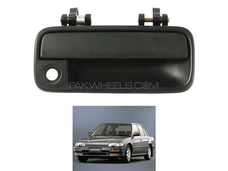 Honda Civic 1988-1991 Right Side Outer Door Handle  Image-1
