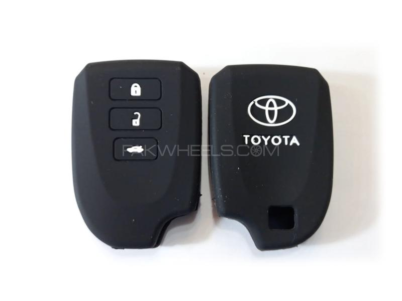 Toyota Yaris Silicone Soft Key Cover in Lahore
