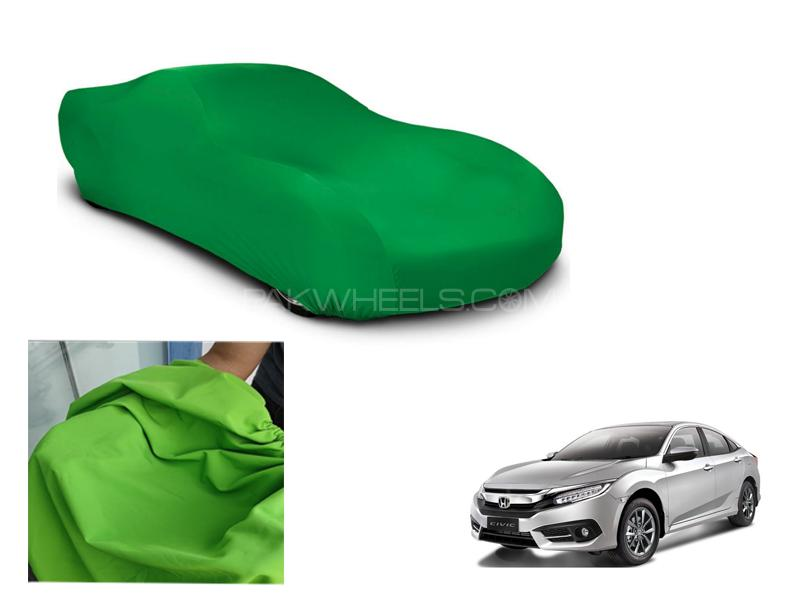 Honda Civic 2016-2021 Microfiber Coated Anti Scratch And Anti Swirls Water Resistant Top Cover in Lahore
