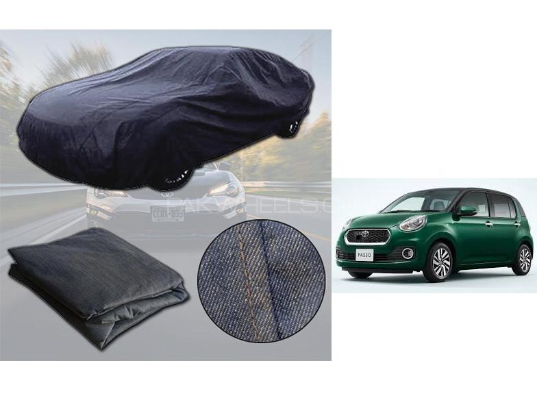 Toyota Passo 2016-2021 Denim Double Stitched Top Cover  in Karachi
