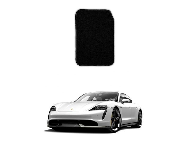Porsche Taycan Marflex Floor Mats Premium Black in Lahore