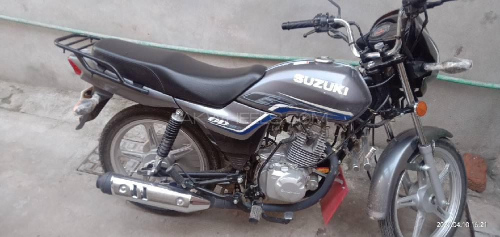 Suzuki GD 110S 2020 Image-1