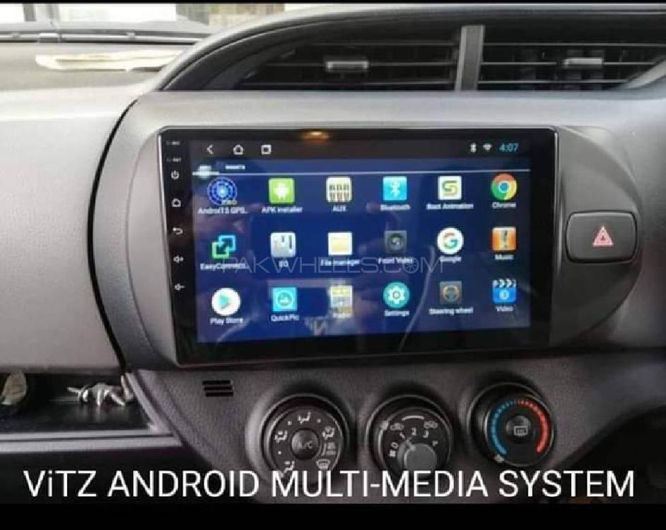 Navigation Unit For Toyota Vitz . Image-1