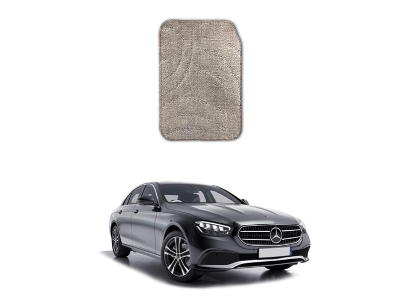 Mercedes E Class 2019-2021 Marflex Floor Mats Premium Beige Image-1