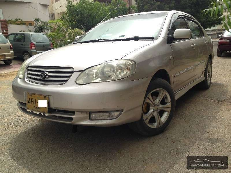 used toyota corolla se saloon automatic 2005 car for sale