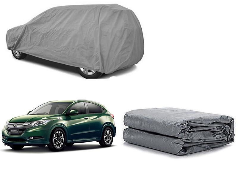 Honda Vezel 2013-2021 PVC Cotton Fabric Top Cover - Grey  in Karachi