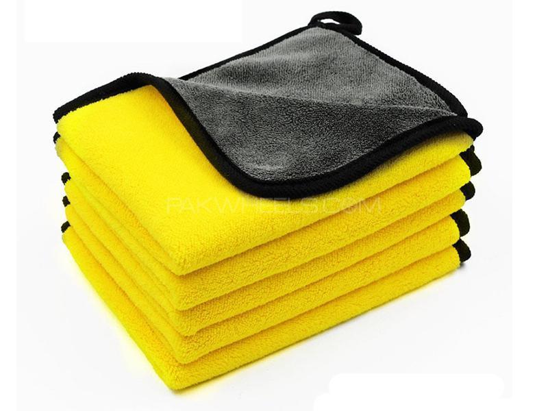 Micro Fiber Cloth Yellow - Pack Of 3 in Karachi