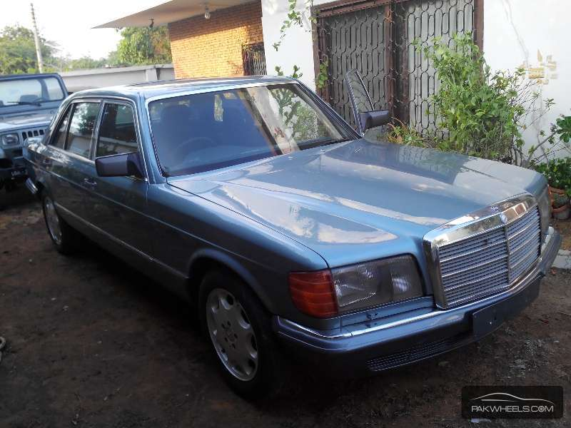 Used mercedes benz s class 500sel 1985 car for sale in for 1985 mercedes benz 500sel