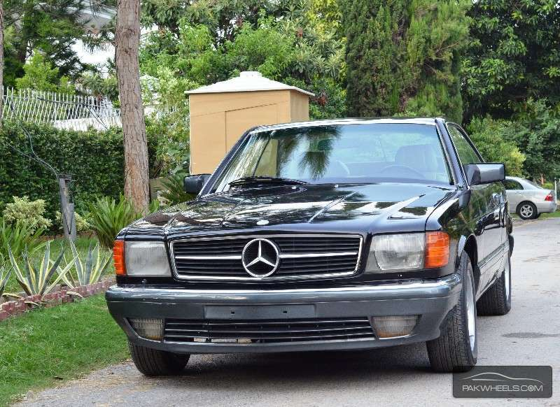 Mercedes benz s class sec 500 1985 for sale in islamabad for Used mercedes benz rims for sale