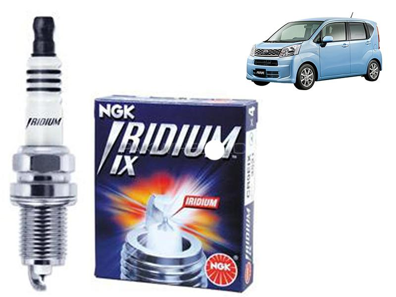 Daihatsu Move 2014-2021 NGK Iridium Spark Plug 3 Pcs - SILZKR6B11 in Karachi