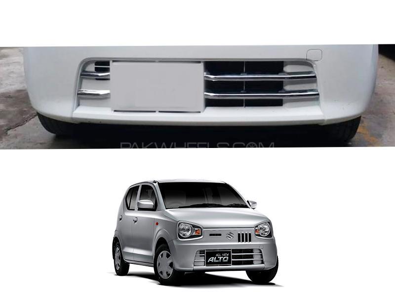 Suzuki Alto 2019-2021 Lower Bumper Chrome Trim 4pcs in Lahore