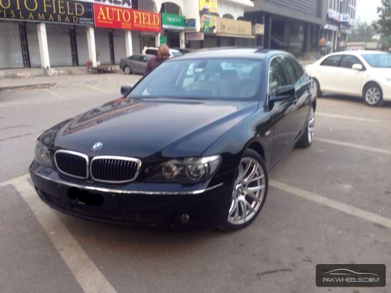 used bmw 7 series 730d 2007 car for sale in islamabad 989124 pakwheels. Black Bedroom Furniture Sets. Home Design Ideas
