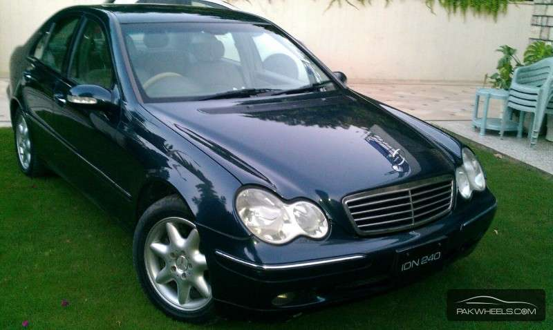 mercedes benz c class c240 2001 for sale in islamabad. Black Bedroom Furniture Sets. Home Design Ideas