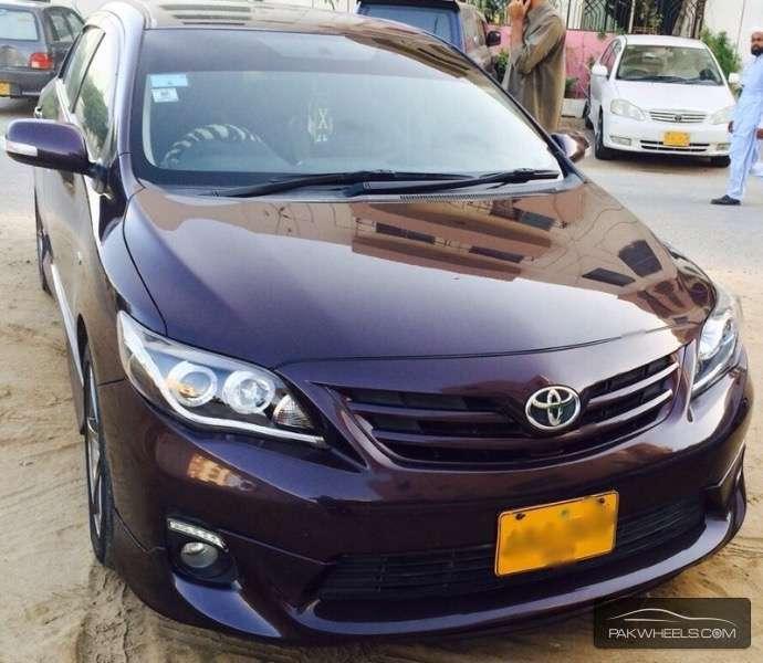 Used Toyota Corolla For Sale >> Toyota Corolla GLi 1.3 VVTi 2012 for sale in Karachi ...