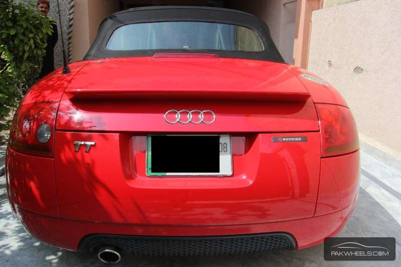 audi tt ttsc coupe 2002 for sale in lahore pakwheels. Black Bedroom Furniture Sets. Home Design Ideas