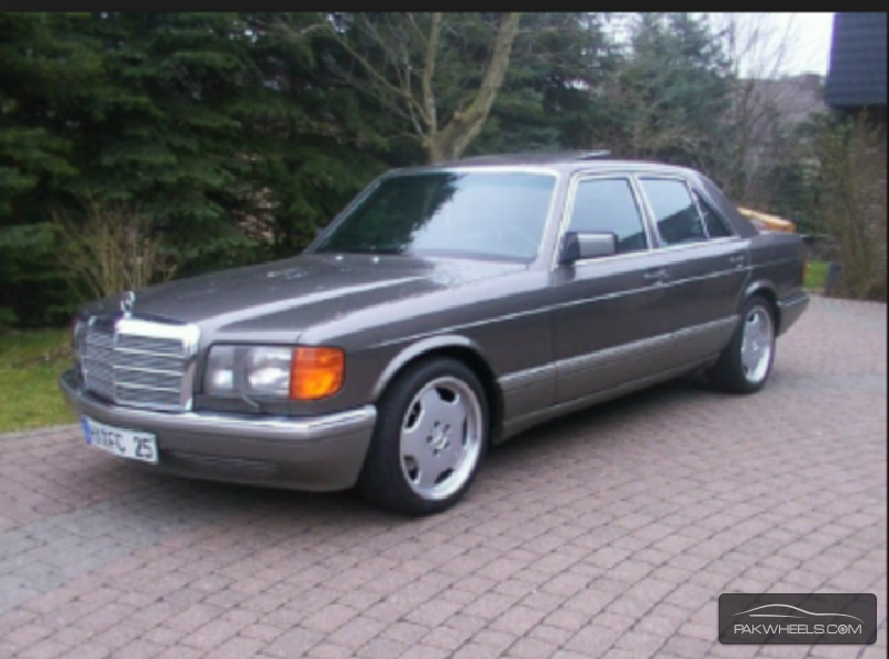 Mercedes benz s class 500sel 1985 for sale in karachi for 1985 mercedes benz 500sel