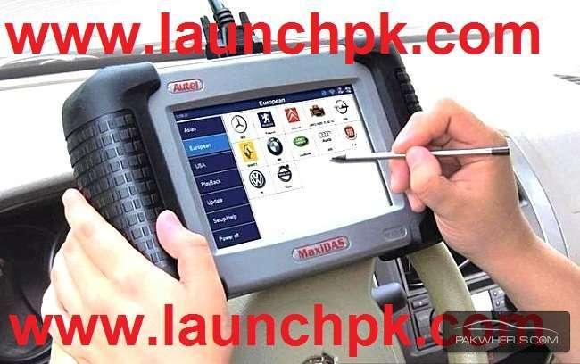 Autel Maxidas DS708, Korean Scanner. Support all Cars Image-1