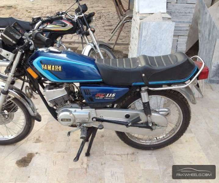 Used yamaha rx 115 1983 bike for sale in lahore 129975 for Yamaha rx115 motorcycle for sale
