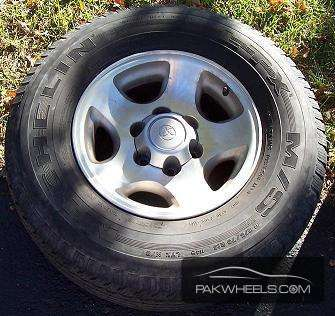 Land cruiser , Prado , Surf , Vigo  Genuine Rims Image-1