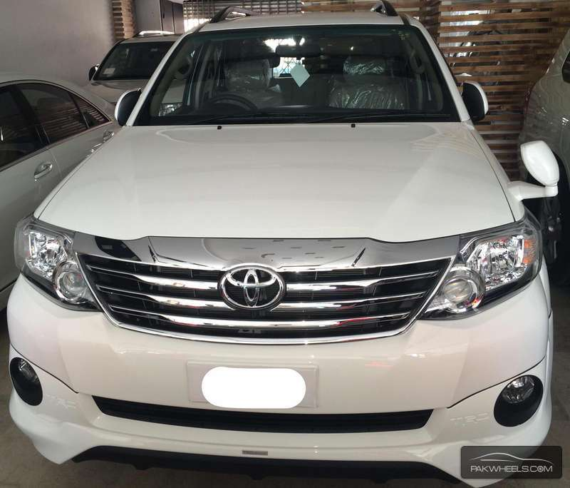 Toyota Trd For Sale: Toyota Fortuner TRD Sportivo 2015 For Sale In Islamabad