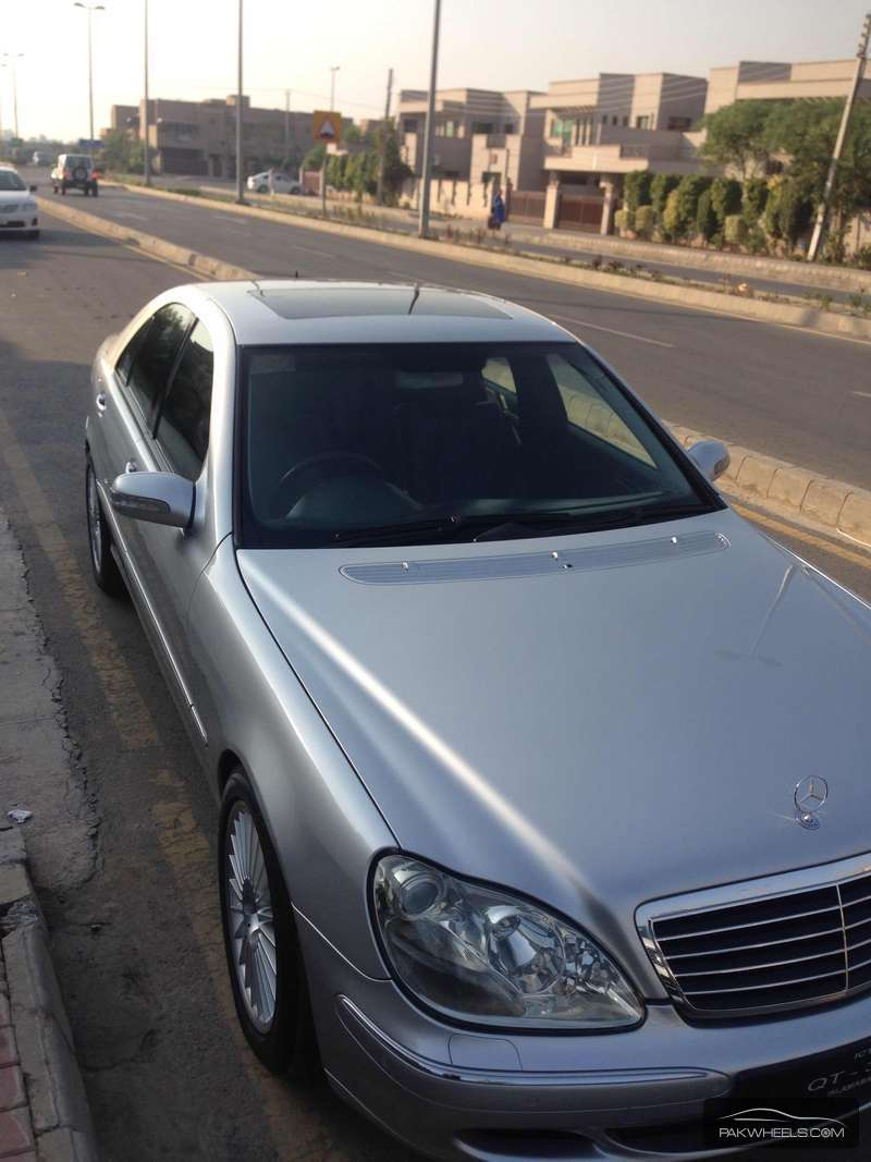 Mercedes Benz S Class S350 2004 Image-4