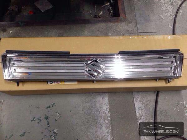 suzuki wagon r  stingray mh23s front grill Image-1