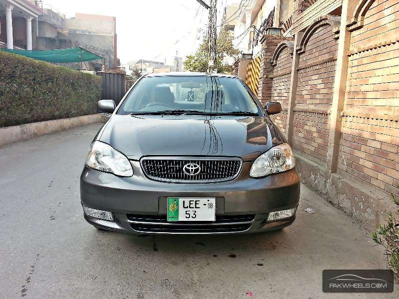 used toyota corolla gli 2008 car for sale in lahore 1076043 pakwheels. Black Bedroom Furniture Sets. Home Design Ideas