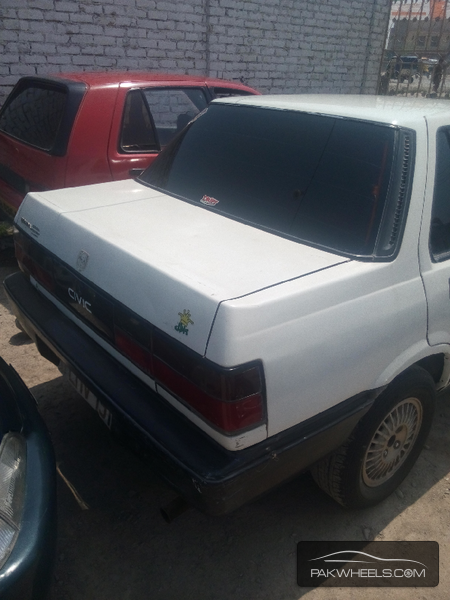 Honda Civic 1987 Image-4