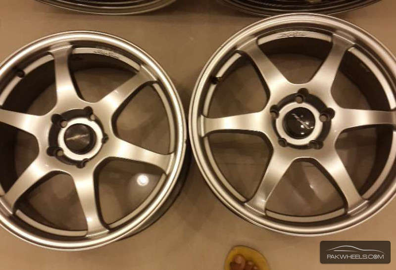 Almost new, Lenso Alloy Rims 17 in Thailand almost new  Image-1