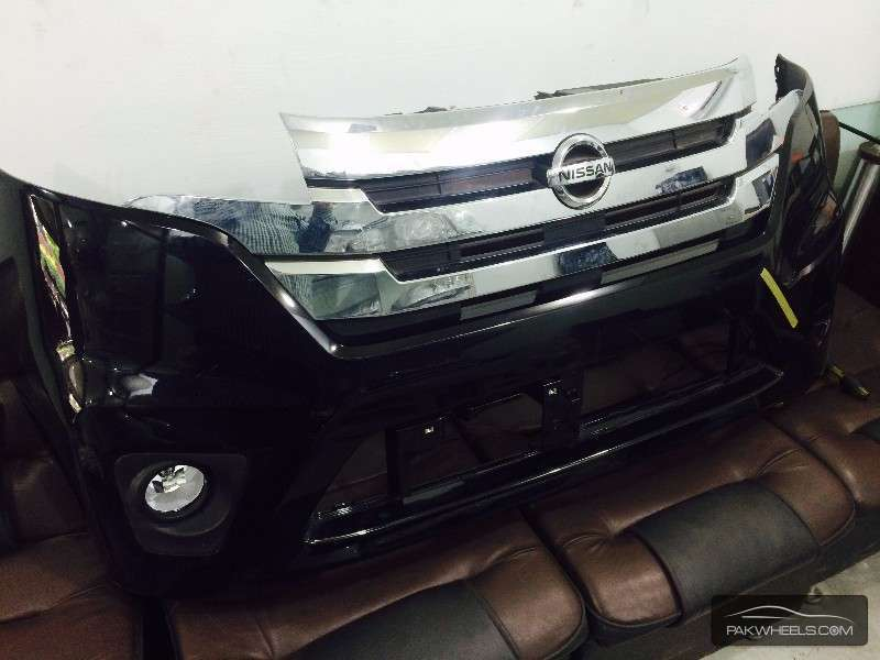 Nissan days highway star front bumper For Sale Image-1