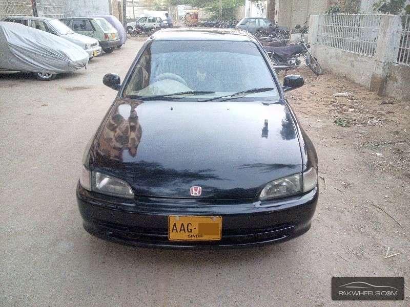 Used honda civic ex 1995 car for sale in karachi 1142546 for Savio 724 ex manuale