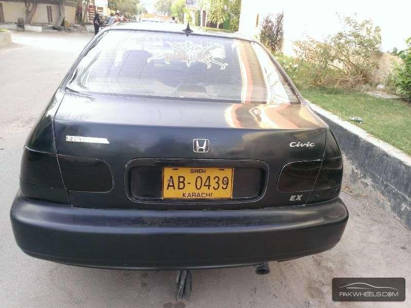 used honda civic exi 1995 car for sale in karachi 1151350 pakwheels. Black Bedroom Furniture Sets. Home Design Ideas