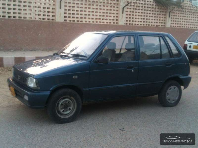 used suzuki mehran vxr cng 2006 car for sale in karachi   1152003