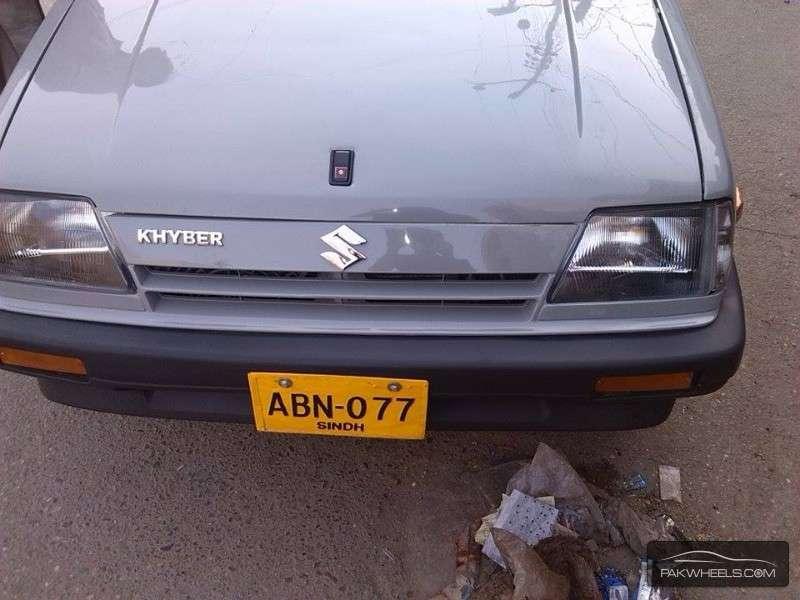 suzuki khyber 1998 for sale in karachi