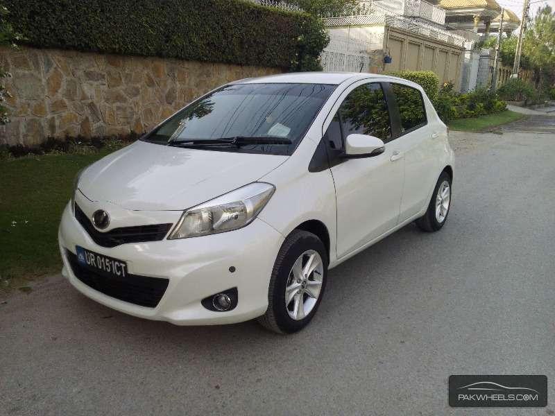 Toyota Vitz 2013 For Sale In Peshawar Pakwheels
