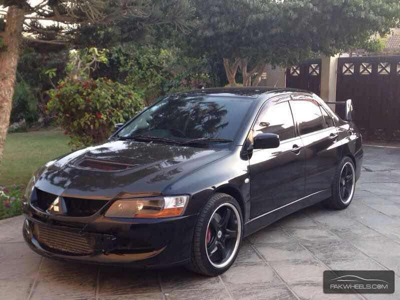 mitsubishi lancer evolution 2003 for sale in karachi pakwheels. Black Bedroom Furniture Sets. Home Design Ideas