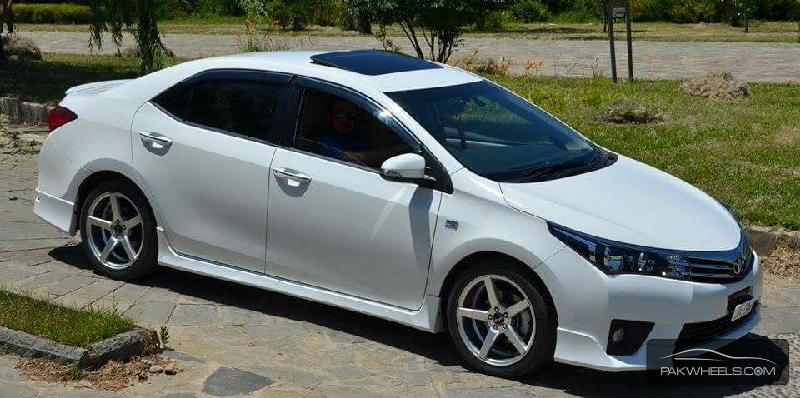 toyota corolla altis grande cvt i 1 8 2015 for sale in
