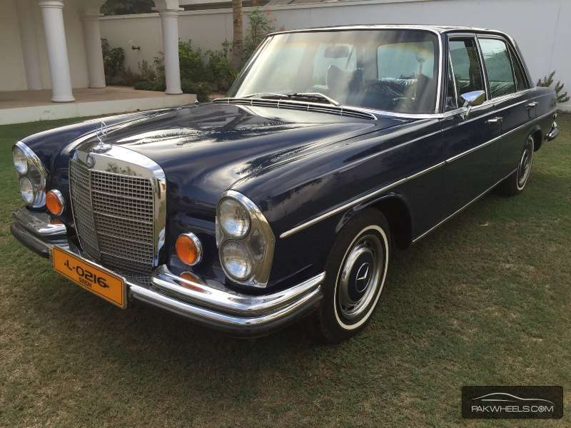 Mercedes benz s class s280 1973 for sale in karachi for Mercedes benz s280 for sale