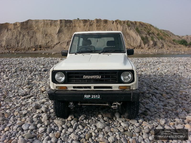 Daihatsu Rocky 1986 Image-7