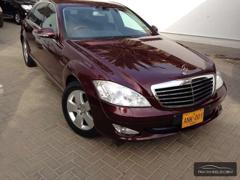 mercedes benz s class s350 2007 for sale in karachi