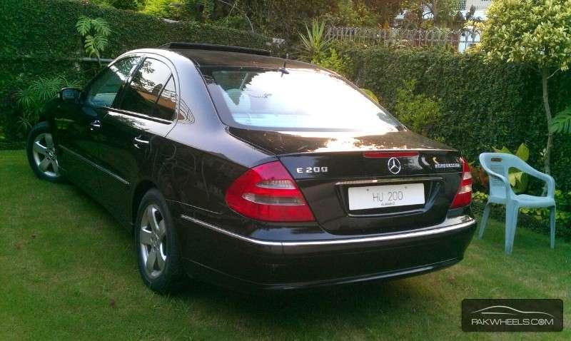 Mercedes benz e class e200 2005 for sale in islamabad for Mercedes benz e class 2005