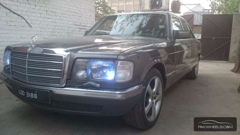 Mercedes benz s class s280 1985 for sale in islamabad for Mercedes benz s280 for sale