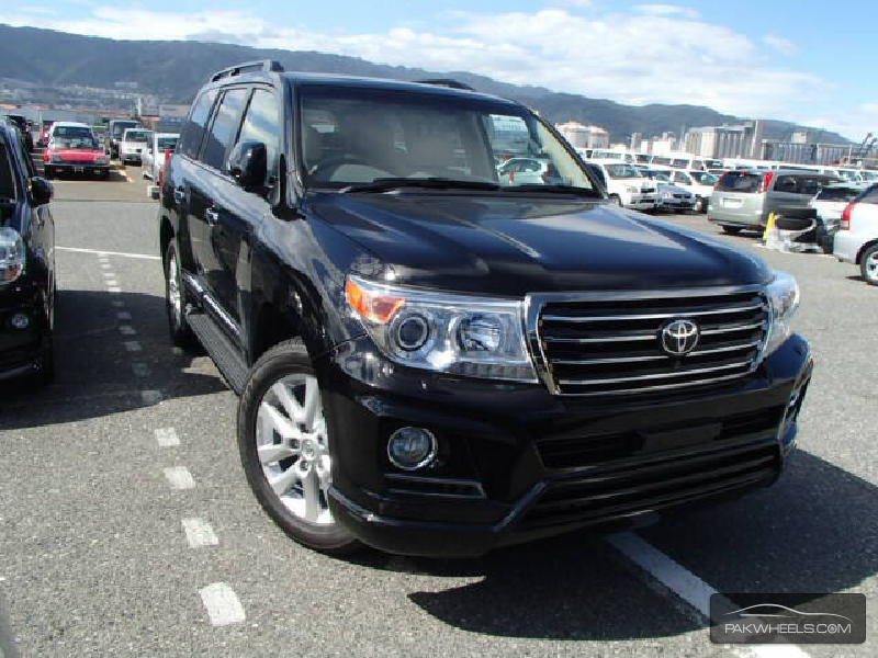 Used Toyota Land Cruiser Zx 2012 Car For Sale In Karachi